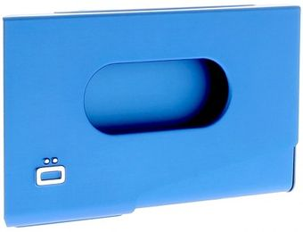 Ogon Porte-Cartes de Visite ONE TOUCH Blue