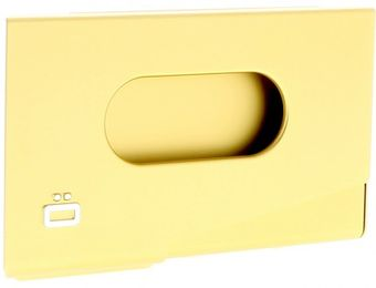 Ogon Porte-Cartes de Visite ONE TOUCH Gold