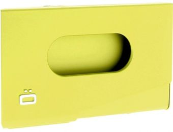 Ogon Porte-Cartes de Visite ONE TOUCH Vert Lime