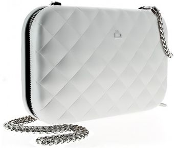 Ögon Quilted Lady Bag Argent