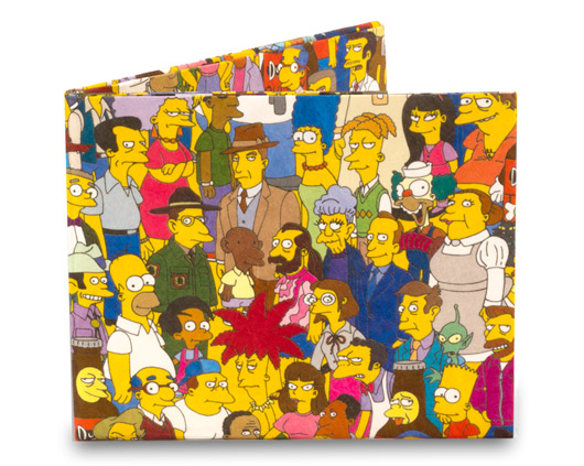 Mighty Wallet Simpsons- Cast