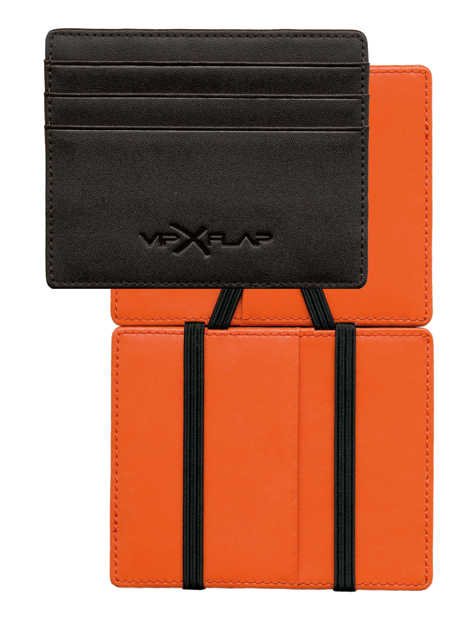 Vip Flap DM Marron Orange